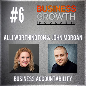 Alli Worthington and John Morgan